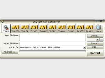 Download OJOsoft AVI Converter