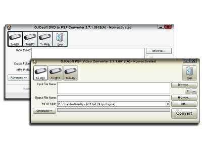 Download OJOsoft DVD PSP Converter Suite