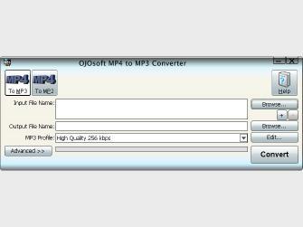 Download OJOsoft MP4 to MP3 Converter