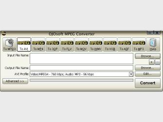 Download OJOsoft MPEG Converter