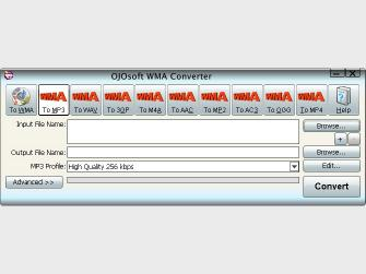 Download OJOsoft WMA Converter