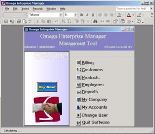 Download Omega Enterprise Manager