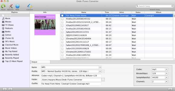 Download Ondesoft iTunes Converter
