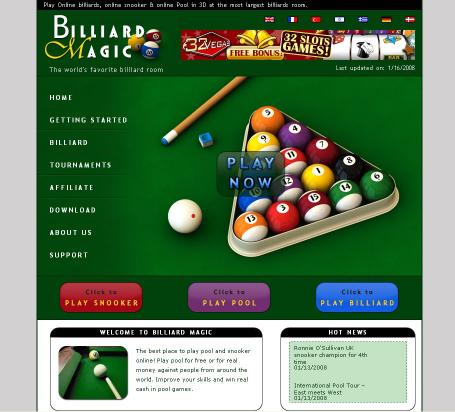 Download Online Billiards