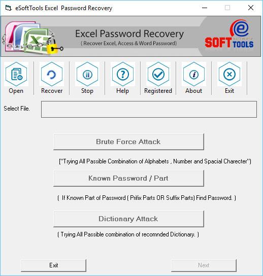 Online Excel Password Recovery