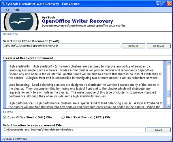 open office word download