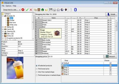 Download Optimal Shopping List Maker