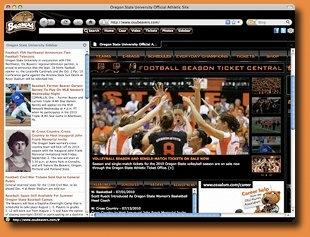 Download Oregon State Beavers IE Browser Theme