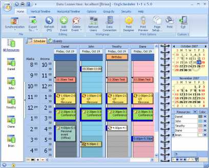 Download OrgScheduler 1+1
