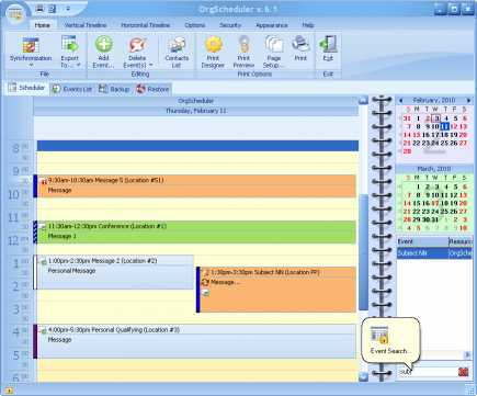 Download OrgScheduler