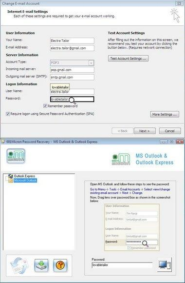 Download Outlook Email Password Recovery