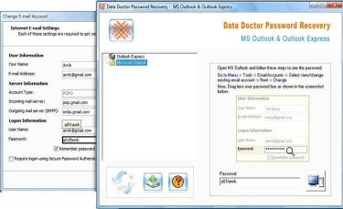 Download Outlook Email Password Recovery Tool