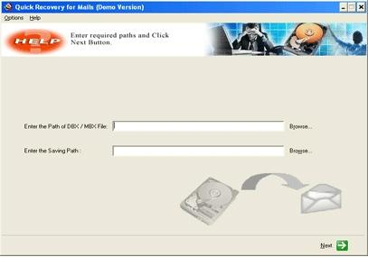 Download Outlook Express Data Recovery by Unistal