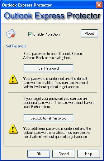 Download Outlook Express Protector