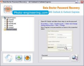 Download Outlook Mail Password Rescue Tool