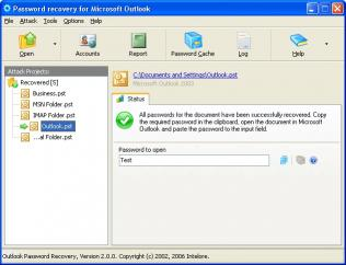 Download Outlook Password Recovery Wizard