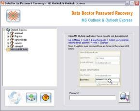 Download Outlook Passwords Recovery Software