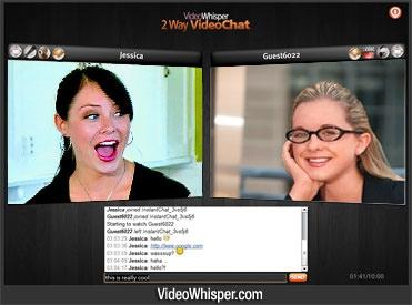 Download P2P 2 Way Webcam Video Chat Script