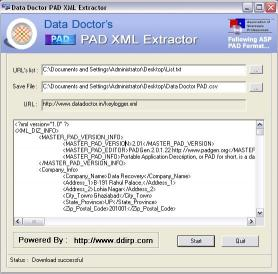Download PAD Extractor Application