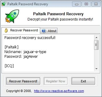 Download Paltalk Password Recovery