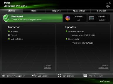 Download Panda Antivirus Pro 2012