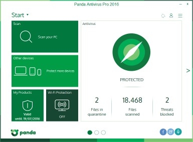 Download Panda Antivirus Pro
