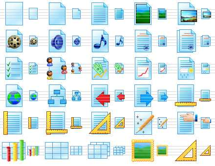 Download Paper Icon Library