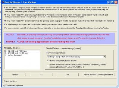 Download PartitionCleaner