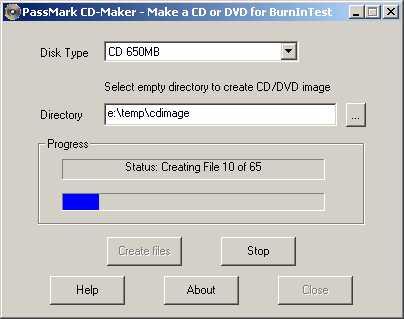 PassMark CD-Maker