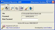 Download Password Recovery .MDB