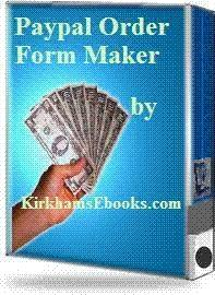 Download Paypal Order Form Maker $2.00 with Resal