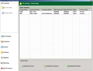 Download PC Invoice Service Edition