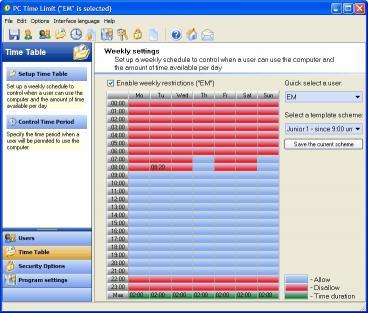 Download PC TIME LIMIT PRO