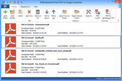 PCBrotherSoft PDF to Image Converter