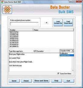 Download PDA Bulk Messages Software