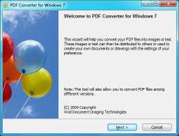 PDF Converter for Windows 7