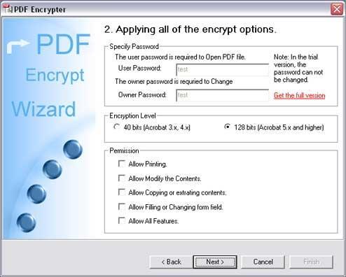 Download PDF Encrypt Tool