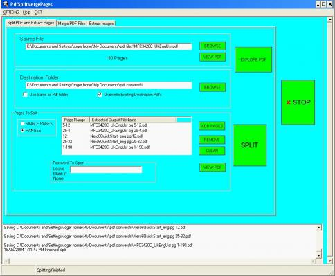 Download Pdf Split Merge Pages