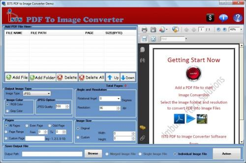 Download PDF to Multipage TIFF Converter