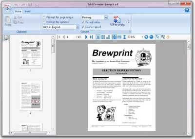 Download PDF to Word | Solid Converter