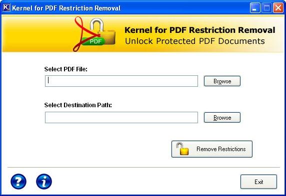 PDF Unlocker Tool - standaloneinstaller com