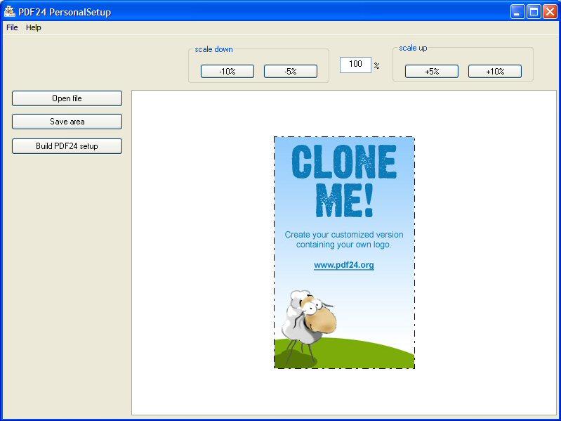 PDF24 Creator Personalizer - standaloneinstaller com