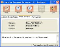Download Peachtree Password Recovery