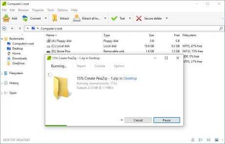 Download PeaZip 64 bit