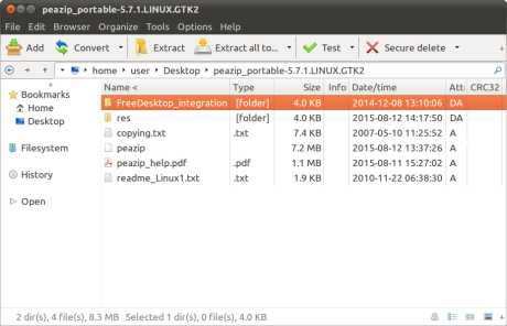 Download PeaZip for Linux
