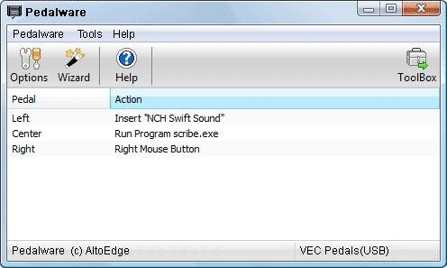 Download Pedalware Foot Pedal Software