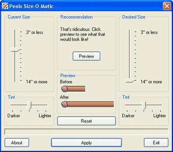 Download Penis Size-O-Matic