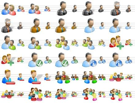 Download People Icons for Vista