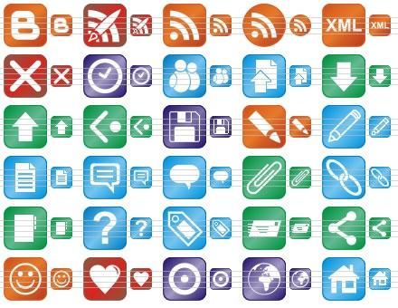 Download Perfect Blog Icons