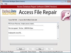 Download Perfect Data Solutions Access Repair